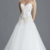 Berlin strapless ivory gown by jessica grace