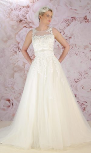 BL189 stunning bridal gown by Victoria Kay